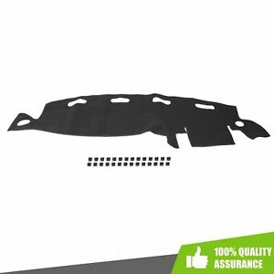 Dash Cover Dash Mat Dashboard Mat Black For 1998 2001 Dodge Ram 1500 2500 3500