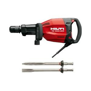 Hilti Demolition Hammer Polygon Breaker Te 1000 avr Performance Package 120 Volt