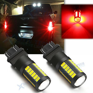 3157 3156 3047 Led Red Brake Tail Light Bulb For Ford F 150 1997 2016 2017 2018
