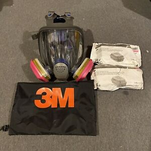 3m Ff 402 Ultimate Fx Full Facepiece Reusable Respirator Med W 2 Set Filters