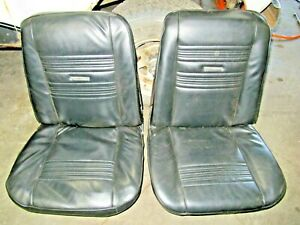 1967 Chevy Chevelle Front Bucket Seats Backs Side Panels New Pui Covers