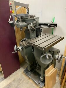 Deckel Gk12 Universal Engraving And Profiling Machine Pantograph