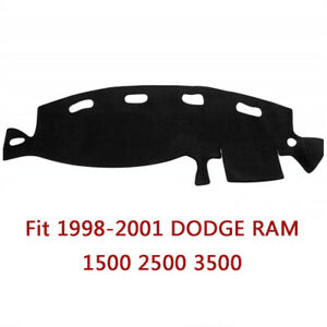 Fit 1998 2001 Dodge Ram 1500 2500 3500 Dashboard Cover Dash Mat Pad Carpet