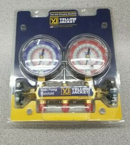 Yellow Jacket 2 Valve Heat Pump Test And Charging Manifold 42041 rs