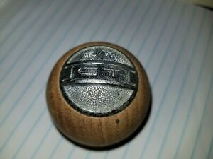 Vintage 1960s 1970s Gt Wood Shift Knob Ford Mercury Dodge Chevrolet Buick