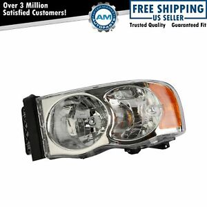 Headlight Headlamp Driver Side Left Lh New For Dodge Ram Pickup Truck