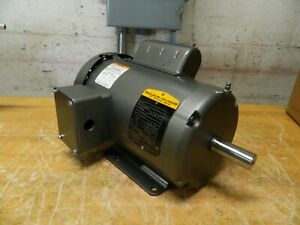 Baldor Electric Ac dc Motor 1 1 2 Hp 115 230v Single Phase 35t795s225