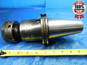 Parlec Cat50 Tg100 Collet Chuck Tool Holder 5 3 8 Projection C50 10sc5 Tg 100