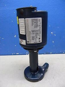 Graymills Immersion Coolant Recirculating Pump 208 230 460v 1 6hp Hr45 f