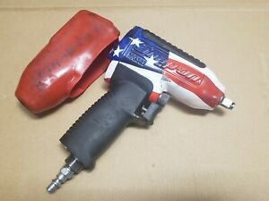 Rare Snap On Mg325flag 3 8 Drive Air Impact Wrench Pre Owned Free Shipping