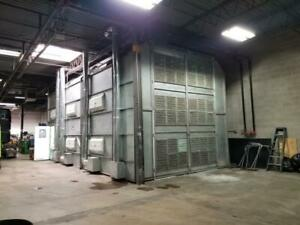 Paint Booth Spray Booth Semi Truck Size