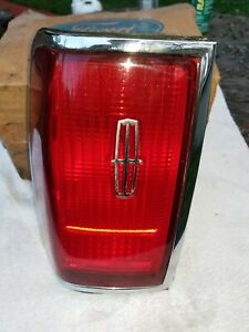 95 97 Lincoln Town Car Left Tail Light Assembly Free Shipping