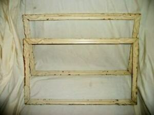Chippy Creamy Carved Wood Frames Gilt Vintage 1930 S Shabby Chic 2 Available
