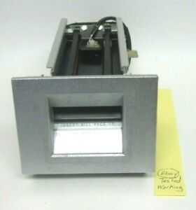 Rowe Ba50 Dollar Bill Changer Transport Acceptor Bc1200 Bc1400 Bc3500 Tested