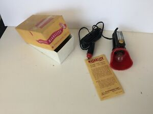 Nos Magnalite Working Portable Trouble Light In Box Ford Chevrolet Lincoln