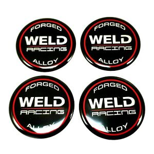 Weld Racing Replacement Center Cap 2 Emblems 601 3010 Pack Of 4