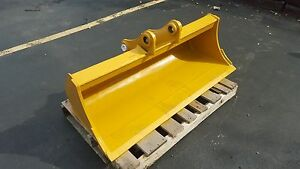 New 48 Caterpillar 305ccr Ditch Cleaning Bucket W Pins
