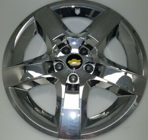 Chrome 2008 2009 2010 2011 2012 Chevrolet Malibu Hubcap Wheel Cover 3277 17