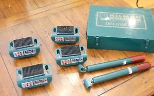Hillman Roller Kit Krs 3 4s Deluxe Kit 75 Ton X 4 Rollers Lightly Used 3 Ton