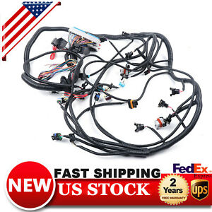 Fits 1997 2006 Vortec Dbc Ls1 Standalone Wiring Harness With T56 4 8 5 3 6 0 Usa