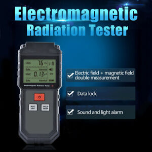 Us Electromagnetic Radiation Tester Emf Meter Electric Magnetic Field Tester