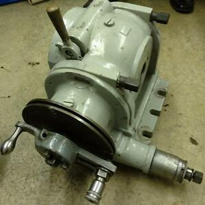 K T 5 1 Dividing Head 50 Taper Exc Condition Milwaukee Kearney Trecker