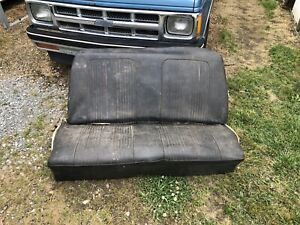 1964 1965 Chevelle Gto Cutlass Convertible Rear Seat Back Seat