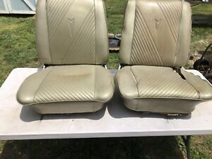 1965 Gto Chevelle Lemans Tempest Cutlass Bucket Seats