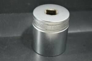 Snap On 1999 Sw481 1 1 2 Sae 12 point 1 2 Flank Drive Shallow Socket