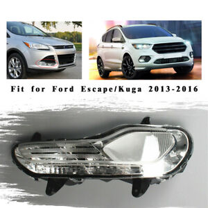 Right Front Bumper Fog Light Without Bulb Parts For Ford Escape Kuga 2013 16