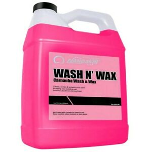 Car Wash Shampoo Shine Wax Pressure Gun Soap Snow Foam Clean 1 Gal