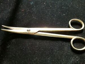Suture Scissors Matthey Brothers Germany Vintage Medical Equipment