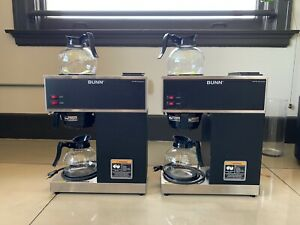 2 Bunn Coffee Maker Vpr 12 Cup In Great Condition