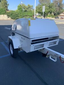 Grimmer Schmidt Diesel 160 Cfm 100 Psi With Only 150 Hours Of Running Time