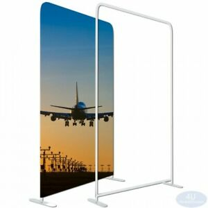 Ez Tube Fabric Display Frame Straight Booth Show Stand 4x8ft only Hardware