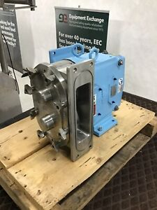 Waukesha Spx 134 Positive Displacement Pump Factory Rebuild Rectangular Infeed