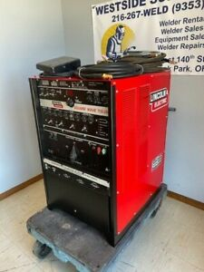 Lincoln Square Wave Tig 350 Single Phase Air cooled Tig Welding Welder