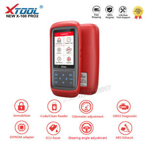 Xtool X100 Pro2 Auto Programmer With Eeprom Adapter Mileage Adjustment Reset Ecm