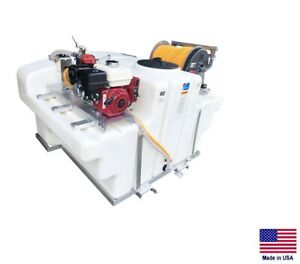 Sprayer Commercial Skid Mounted Truck Utv 9 5 Gpm 580 Psi 400 Gallon