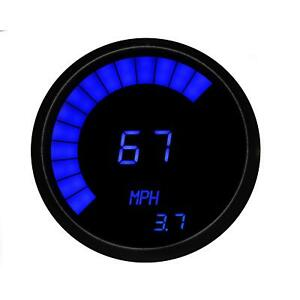 Intellitronix M9222b Led Digital Bar Tachometer Blue