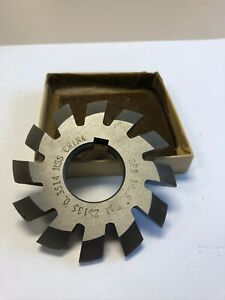 Involute Gear Cutter 8dp 14 5 pa 1