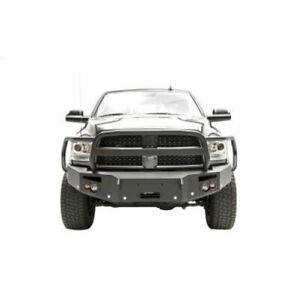 Fab Fours Dr16 c4050 1 Winch Front Bumper W grille Holes For Dodge 2500 New