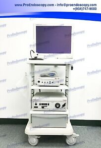 Stryker 988 Camera System Tower Set With Camera Head Light Source