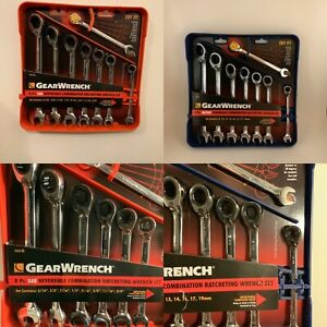Newgearwrench 16 Piece Gearwrench 9533 9543 Reversible Ratcheting Combination