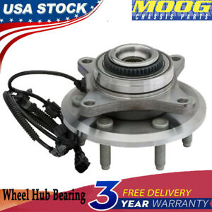 Moog For 2011 2013 2014 Ford F 150 Expedition Navigator Front Wheel Bearings