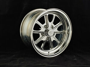 Circle Racing Polished Bullet Gt 15 X 8 Wheel 5 X 4 75 Bp 4 50 Bs