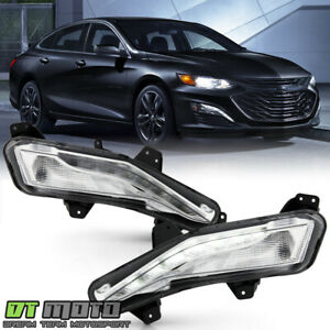 2019 2020 Chevy Malibu Bumper Turn Signal Lights W Led Drl Fog Lamps Left right