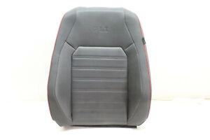 2015 Vw Jetta Gli Front Left Upper Seat Cushion Carbon Oem 15 16 17