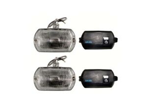 Lucas Square Ft8 Fog Lamp Kit Including Covers Pair Rx1700k