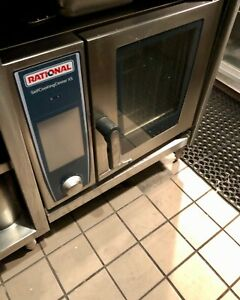 Rational Scc Xs 6 2 3 Half Size Electric Combi Oven